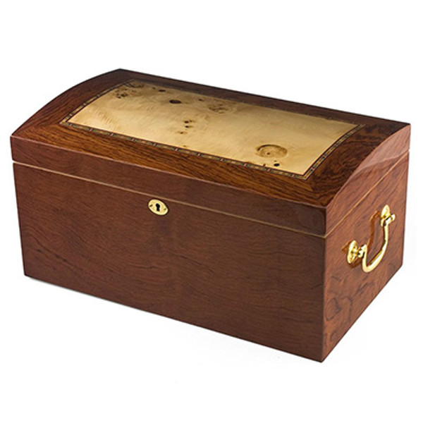 New York Desktop Humidor High Lacquer mardocigars.com