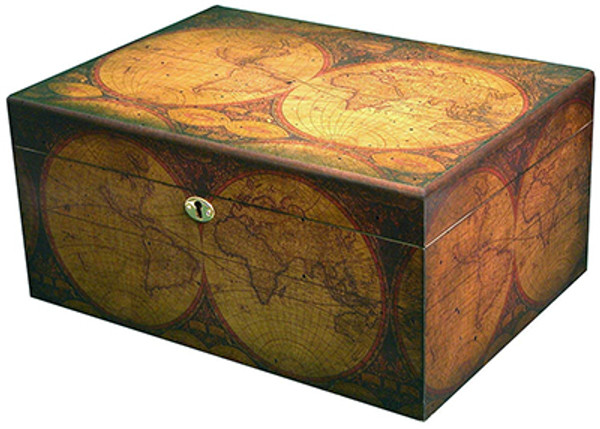 Old World Desktop Humidor mardocigars.com