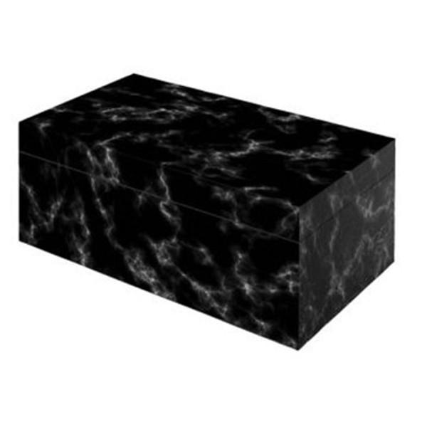 Black Marble Desktop Humidor  mardocigars.com