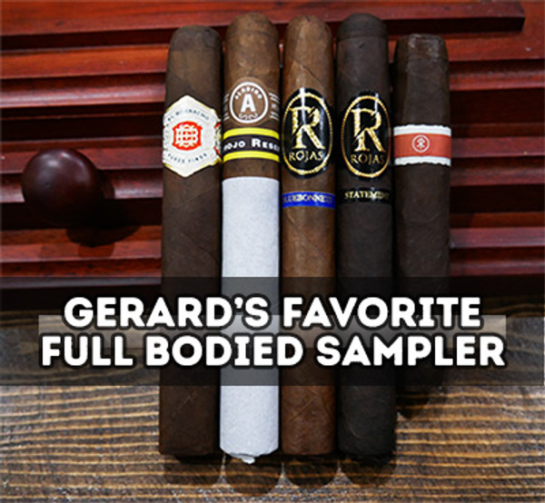 Gerards' Favorite Full body Sampler MardoCigars.com