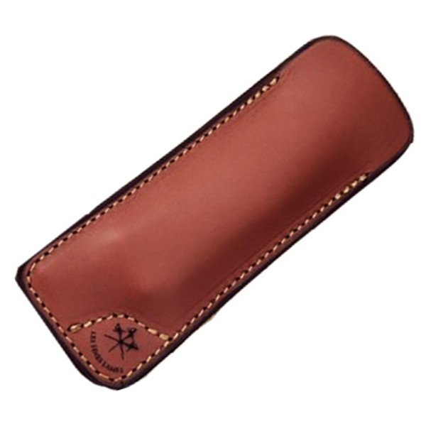 Les Fines Lames - Leather Sheath Natural Tan Mardocigars.com