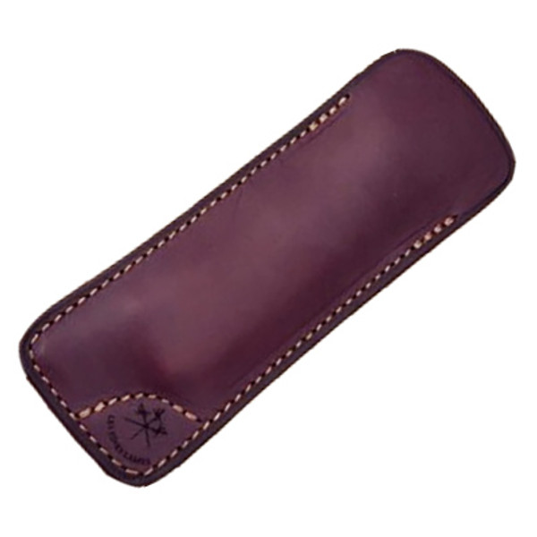 Les Fines Lames - Leather Sheath Natural Burgundy Mardocigars.com