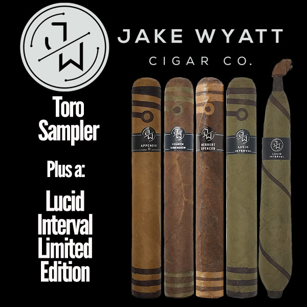 Jake Wyatt Cigar Co. - Toro Sampler L.E. Lucid Interval Mardocigars.com