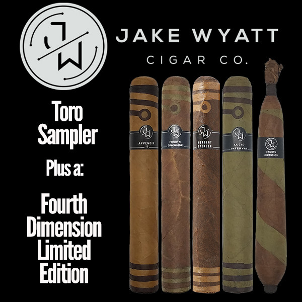 Jake Wyatt Cigar Co. - Toro Sampler L.E. Fourth Dimension Mardocigars.com