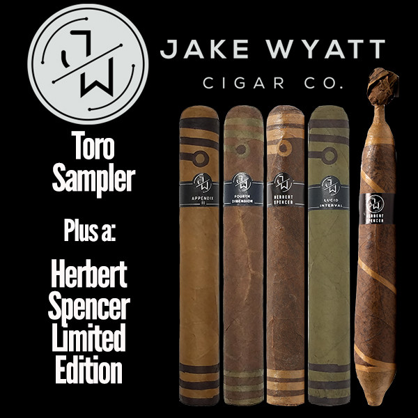 Jake Wyatt Cigar Co. - Toro Sampler L.E. Herbert Spencer Mardocigars.com