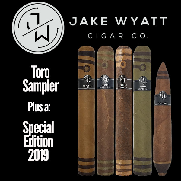 Jake Wyatt Cigar Co. - Toro Sampler S.E. 2019 Mardocigars.com