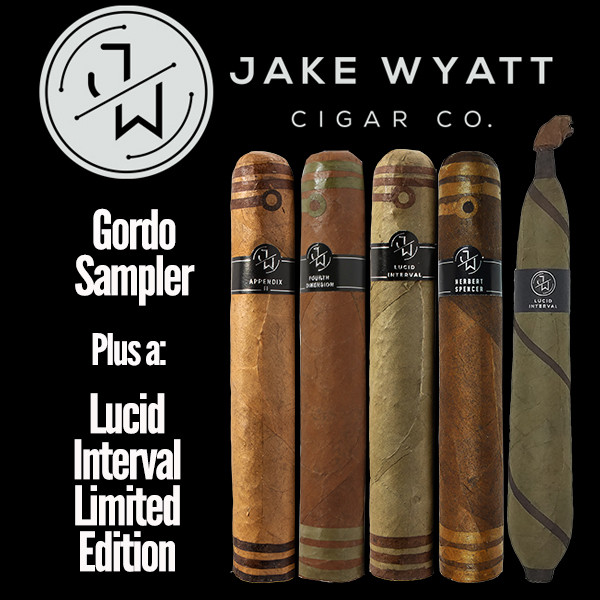 Jake Wyatt Cigar Co. - Gordo Sampler L.E. Lucid Interval Mardocigars.com