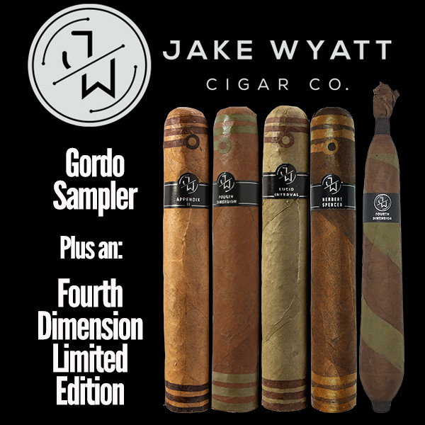 Jake Wyatt Cigar Co. - Gordo Sampler L.E. Fourth Dimension Mardocigars.com