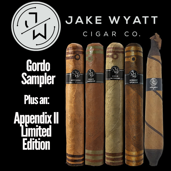 Jake Wyatt Cigar Co. - Gordo Sampler L.E. Appendix II