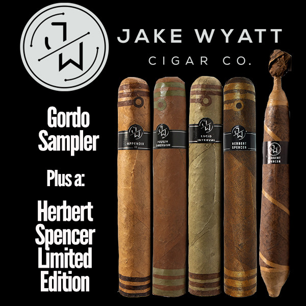 Jake Wyatt Cigar Co. - Gordo Sampler L.E. Herbert Spencer mardocigars.com