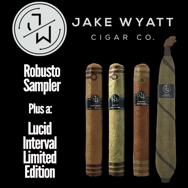 Jake Wyatt Cigar Co. - Robusto Sampler L.E. Lucid Interval Mardo Cigars