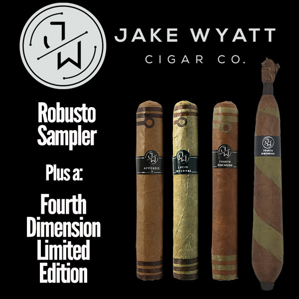 Jake Wyatt Cigar Co. - Robusto Sampler L.E. Fourth Dimension Mardo Cigars