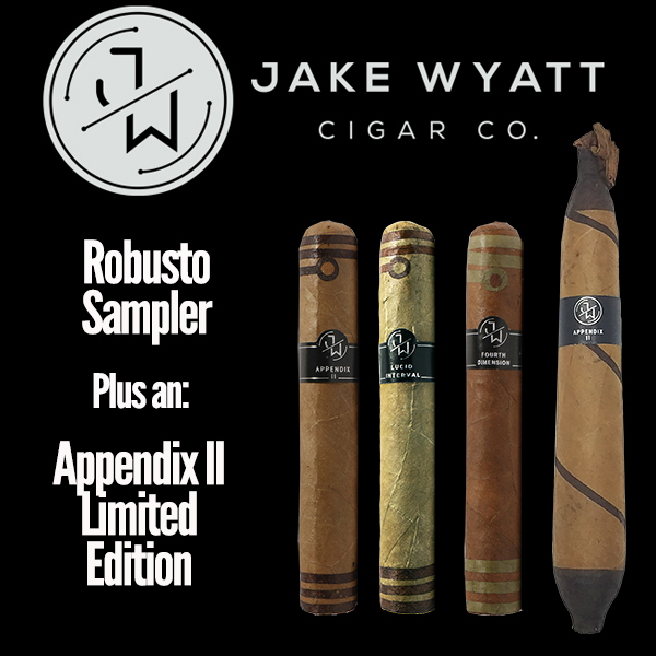 Jake Wyatt Cigar Co. - Robusto Sampler L.E. Appendix II Mardo Cigars