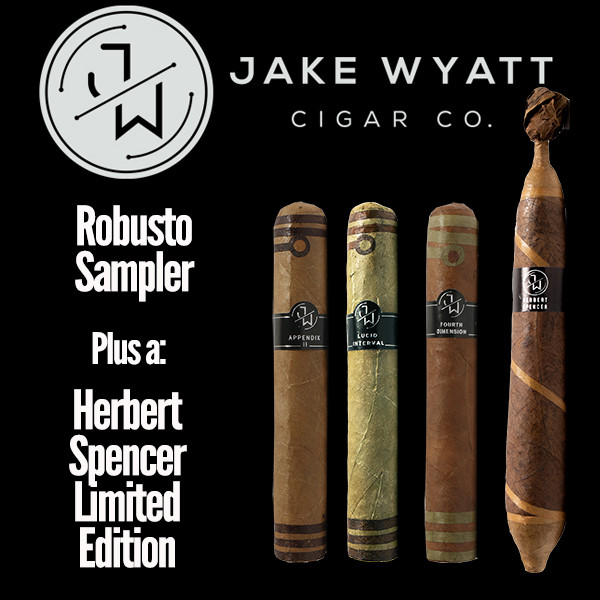 Jake Wyatt Cigar Co. - Robusto Sampler L.E. Herbert Spencer Mardo Cigars