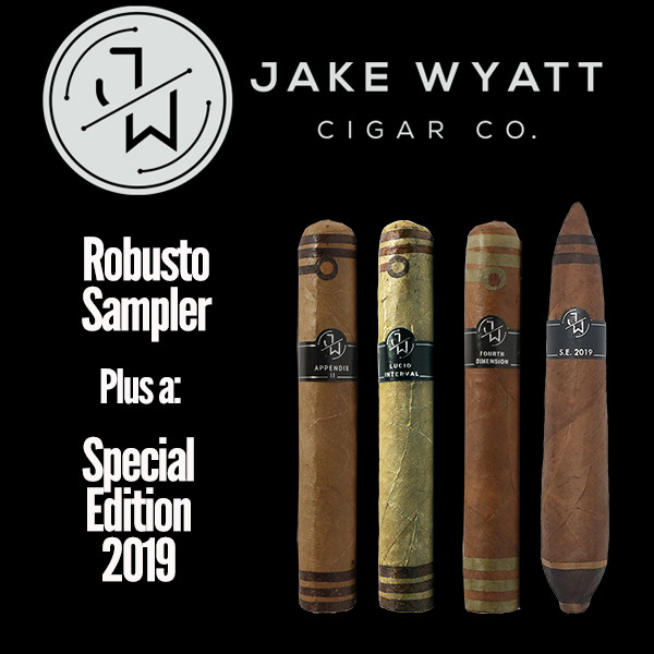 Jake Wyatt Cigar Co. - Robusto Sampler S.E. 2019 Mardo Cigars