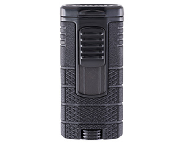 XIKAR Tactical Triple Lighter Black & Black Mardocigars.com
