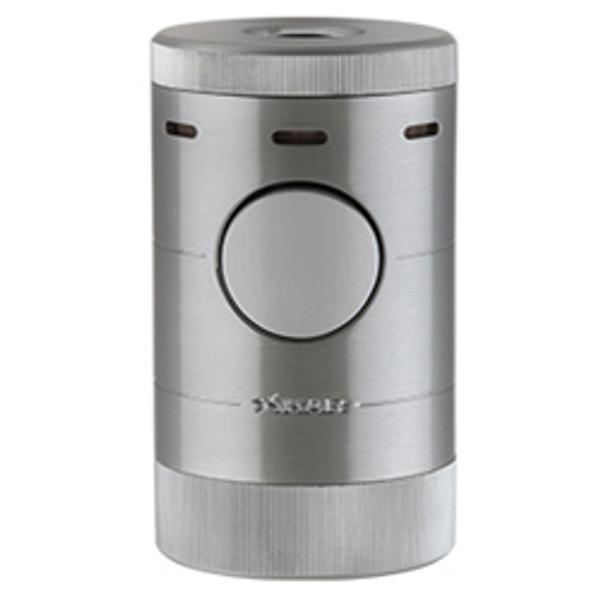 XIKAR Volta Quad Tabletop Lighter Silver Mardocigars.com