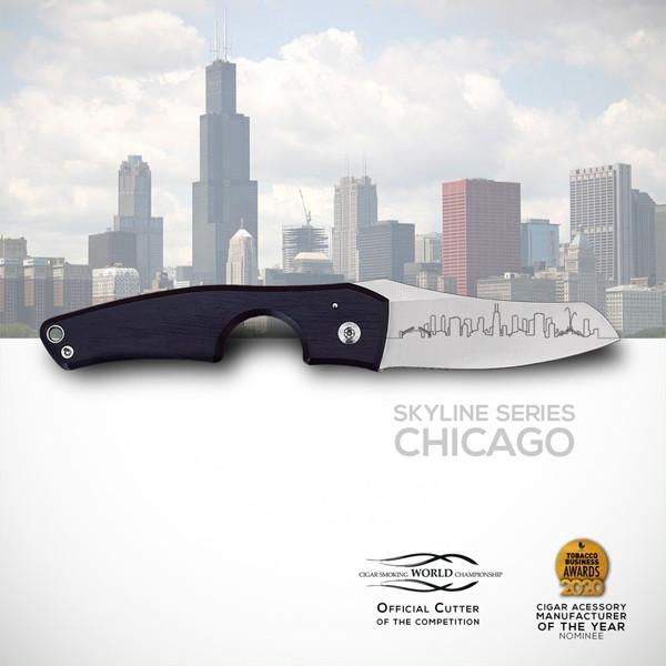 Les Fines Lames - Le Petit Wood Ebony Chicago Mardocigars.com