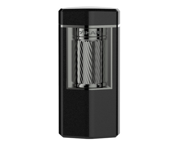 XIKAR Meridian Lighter - Black & Gunmetal Mardo Cigars