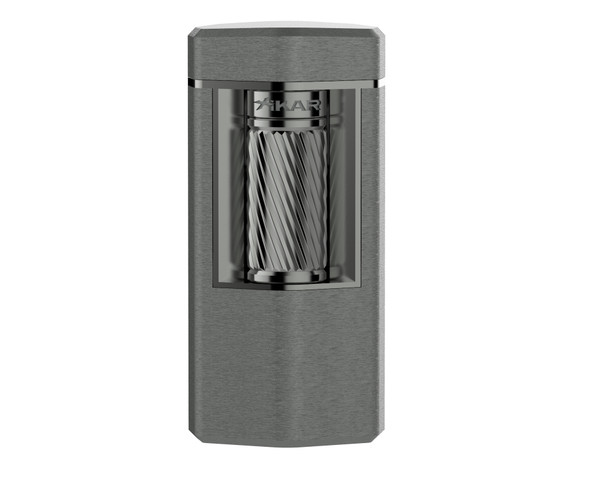XIKAR Meridian Lighter - Gunmetal Mardo Cigars