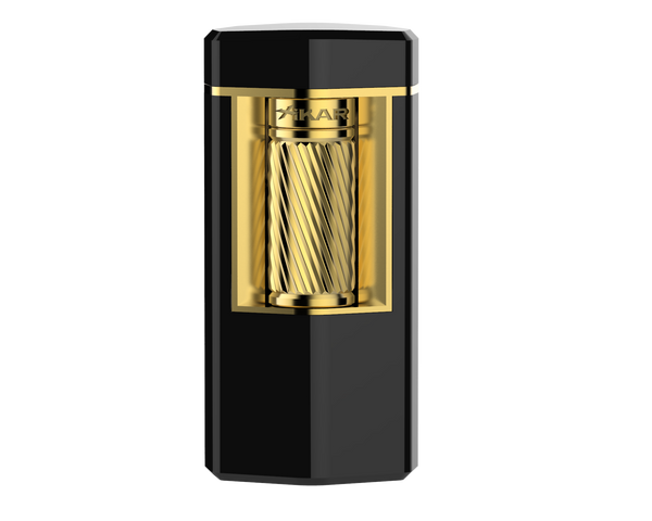 XIKAR Meridian Lighter - Black & Gold Mardo Cigars