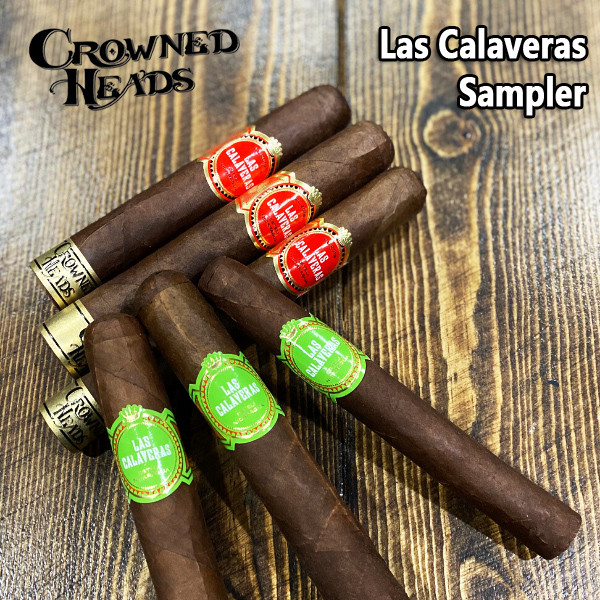 Crowned Heads - Las Calaveras LC Sampler Mardocigars.com
