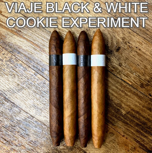 Viaje - Black & White Cookie Experiment Mardocigars.com