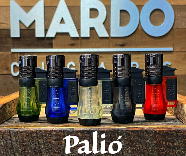 Palio Vesuvio Triple-Jet Lighter Clear Mardocigars.com