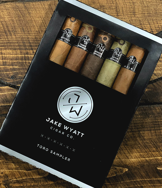 Jake Wyatt Cigar Co. Limited Toro Box Sampler mardocigars.com