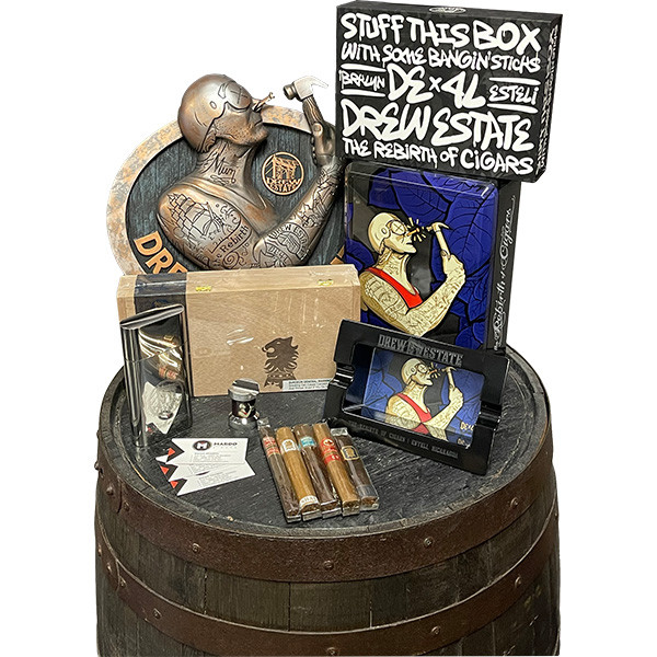 Drew Estate Man Cave Starter kit mardocigars.com