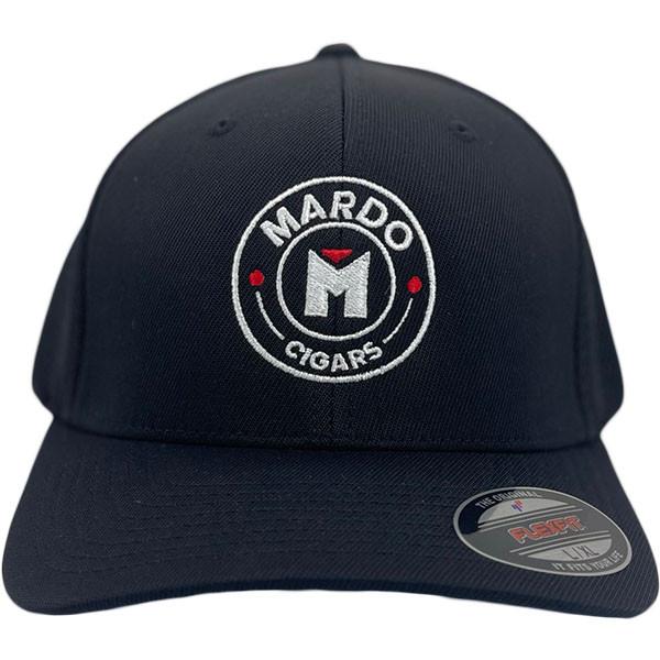 Mardo Cigars - Black Round Logo Fitted MardoCigars.com