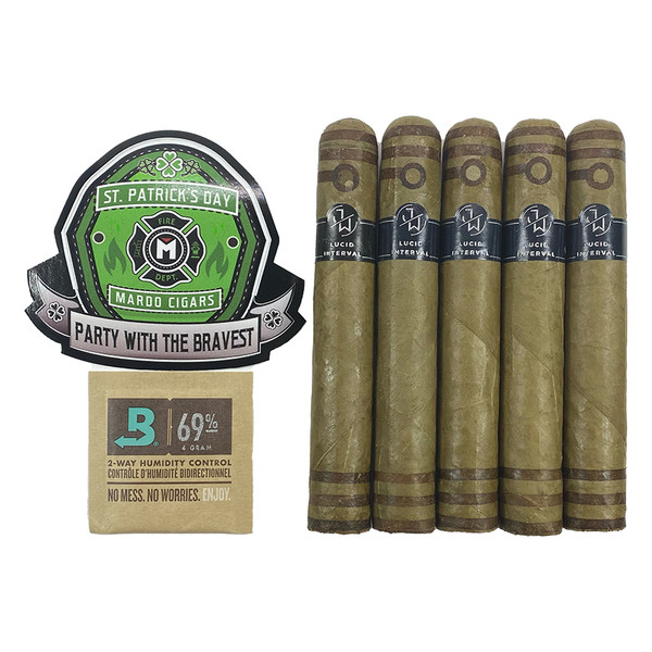 Lucid Interval St. Patty's Sticker Pack mardocigars.com