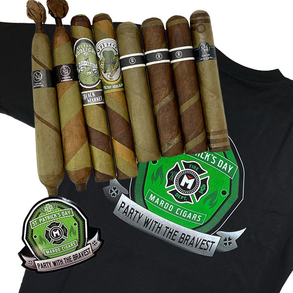 St Patricks' Sampler with FREE Mardo Swag MardoCigars.com