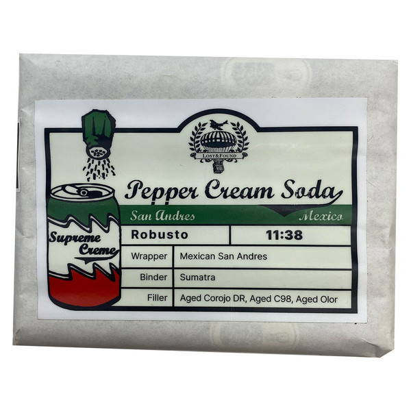 Lost & Found - Pepper Cream Soda San Andres Robusto mardocigars.com