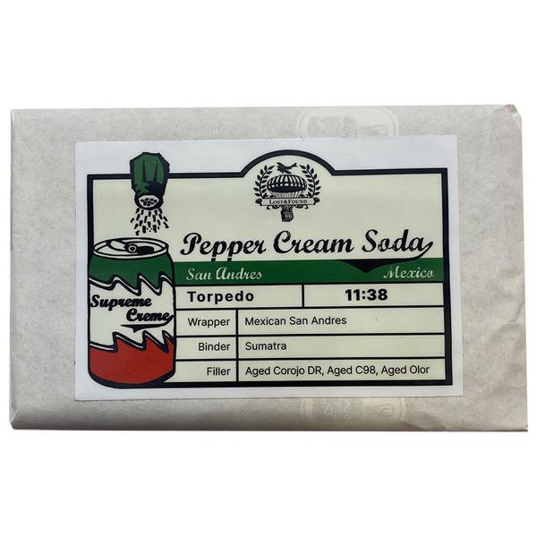 Lost & Found - Pepper Cream Soda San Andres Torpedo mardocigars.com