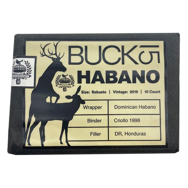 Lost & Found - Buck 15 Habano Robusto  mardocigars.com
