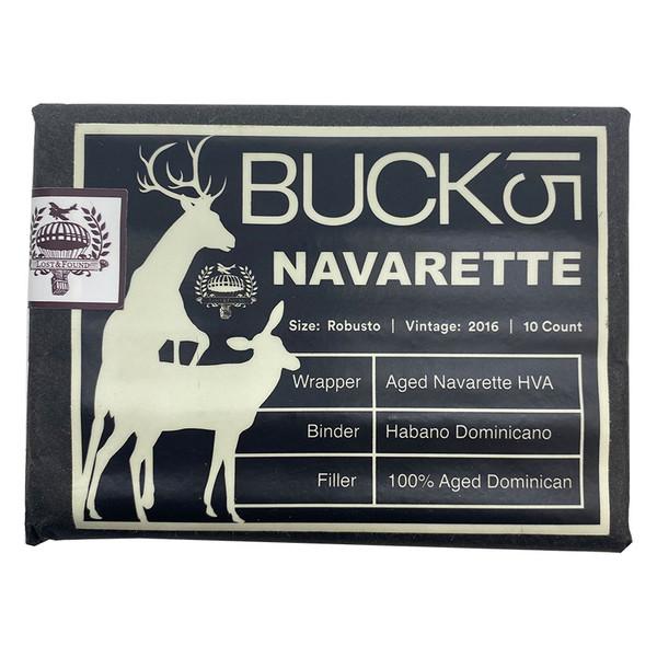 Lost & Found - Buck 15 Navarette Robusto mardocigars.com