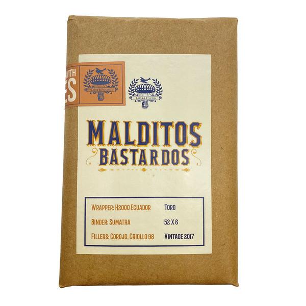 Lost & Found - Malditos Bastardos Toro mardocigars.com