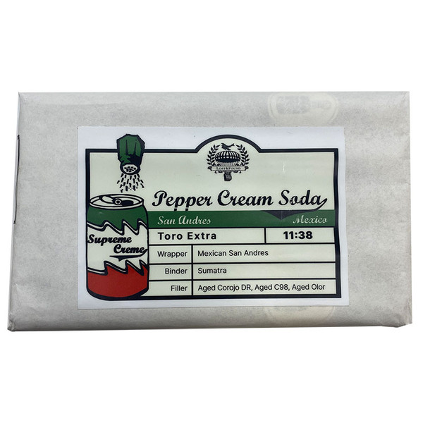 Lost & Found - pepper Cream San Andres Toro Extra mardocigars.com