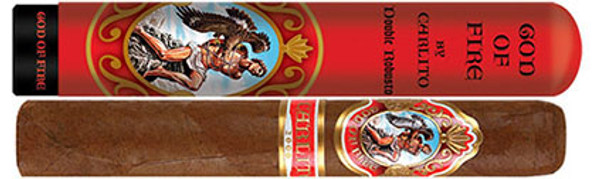 God of Fire Carlito Double Robusto Tubo mardocigars.com