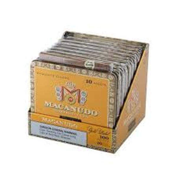 Macanudo Gold Label Ascots mardocigars.com