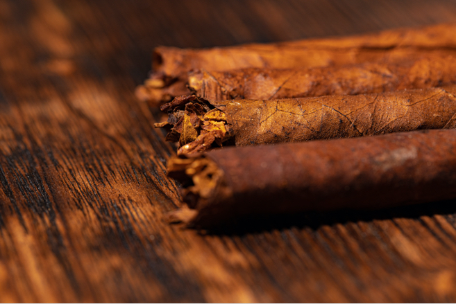 Cigars on a Table