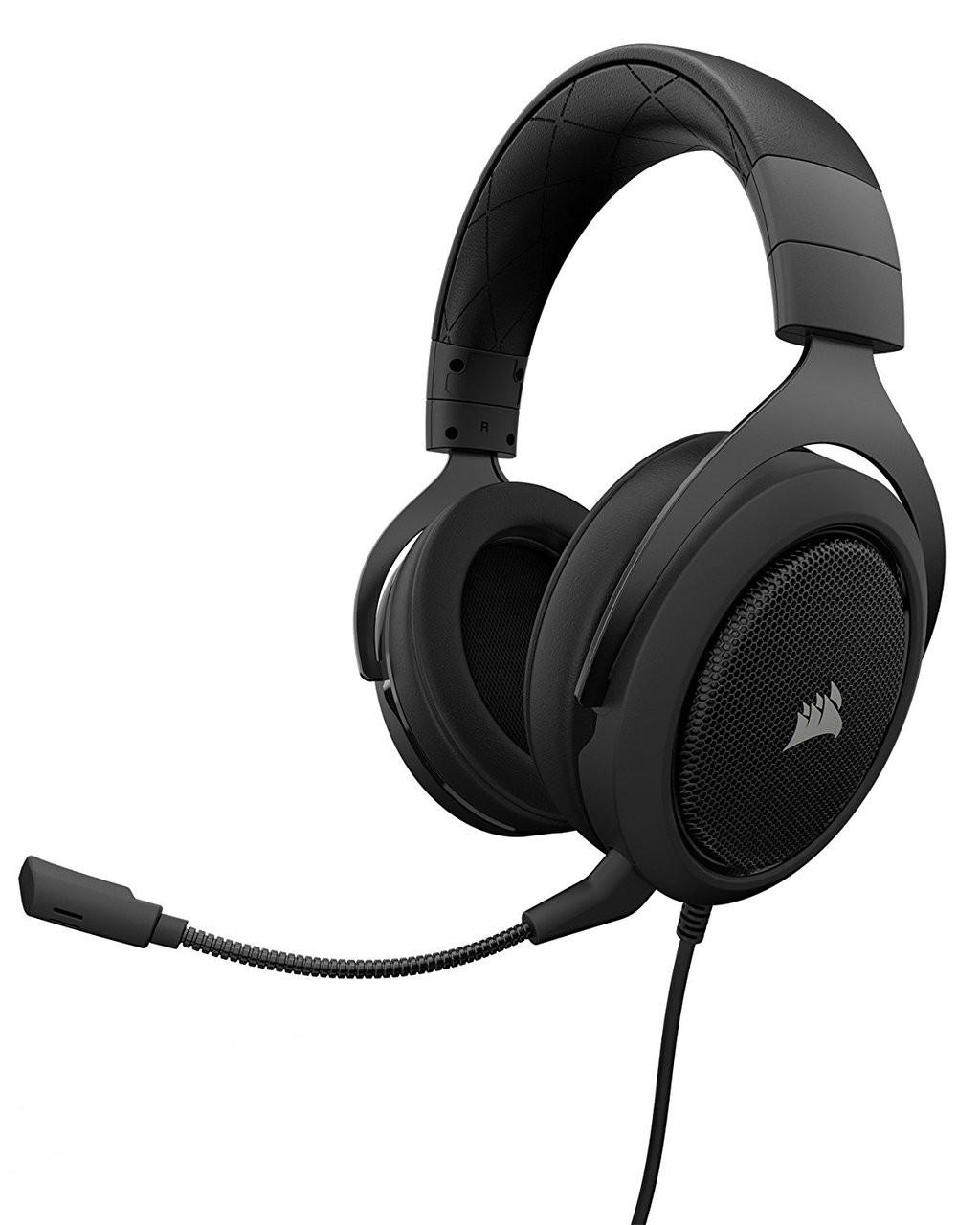 Corsair Hs50 Stereo Gaming Headset Carbon Ap Cs Ca 9011170 Steelseries Arctis 5 With 71 Dts Headphonex Black Rgb
