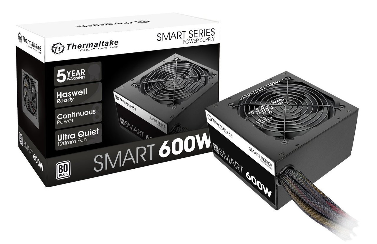 Thermaltake Smart RGB PS-SPR-0700NHFAWU-1 700W 80 PLUS ATX12V 2.3 Power Supply