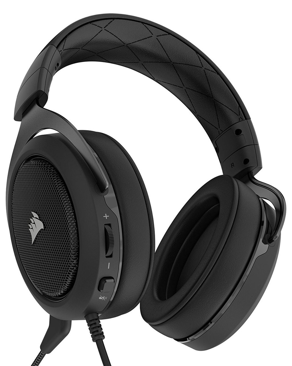 0beae8c919c CORSAIR HS50 - Stereo Gaming Headset - Discord Certified Headphones - Works  with PC, Mac