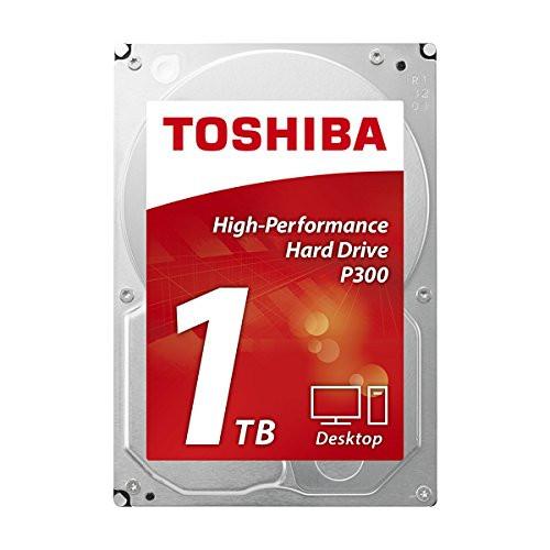 "Toshiba 1TB P300 3.5"" 7200 RPM HDD  64MB Buffer Size"