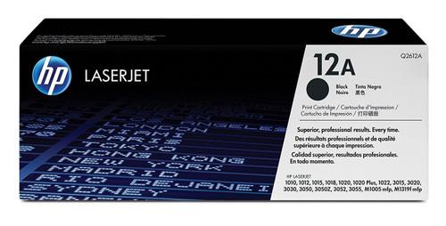 HP 12A Q2612A Black Toner Cartridge LJ101x/M1319/etc