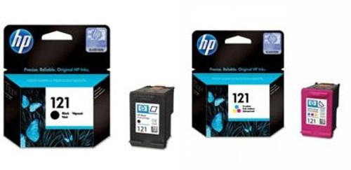 HP 121 Black & Color Original Ink Cartridge
