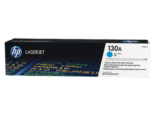 HP 130A Cyan Original LaserJet Toner Cartridge