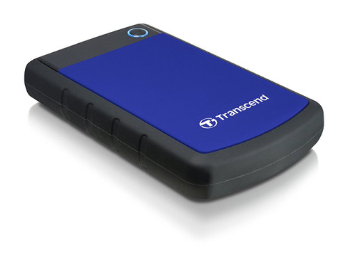 Transcend Military Drop Tested 2TB USB 3.0 25H3 External Hard Drive (TS1TSJ25H3B)
